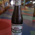A cold Belikin on a hot day...................