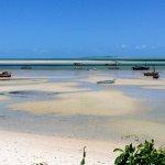 Vilankulos at low tide