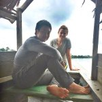 Boat ride back to Iquitos on the third day!