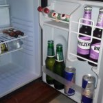 beverages in room
