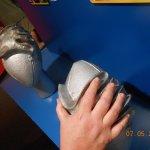 My hand is just a little smaller than Warren Moon's!
