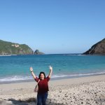 Beautiful Mawun Beach in Lombok