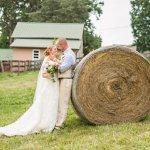 Country farm wedding