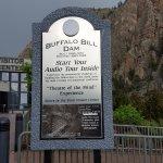 Buffalo Bill Dam Sign