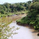 Blick auf den Marariver