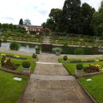 Garden at Kensington Palace within walking distance of hotel!