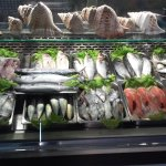 vitrine de peixe