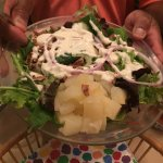 house salad with entree