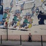 Tintin Mural Painting Foto