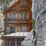 Das Gasthaus Aescher am Felsen