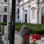 Spazio esterno e vista su Santo Stefano