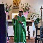 Mass at Mission San Francisco de la Espada