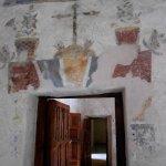 Frescoes adorn Mission Concepción