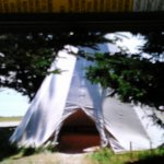 This is a Mi'kmaq Teepee found behind Port Royal