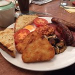Full English Breakfast - very good value and delicious