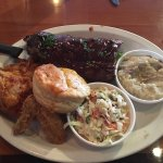 Great chicken and ribs!