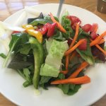 side salad--so many veggies!