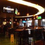 Main bar/dining area