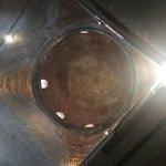 domed ceiling in stairway