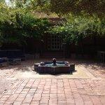 Meem courtyard