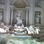 Trevi Fountain 8 minute walk from Hotel