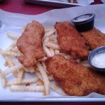 Three-piece fish and fries.