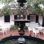 Fountain in first courtyard