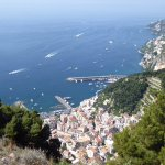 Amalfi from walk