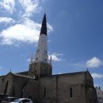L'église depuis la terrasse