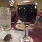 Burgundy Wine, Fifty Grand Steakhouse, Pollock Pines, CA