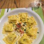Raviolis aux truffes blanches et parmesan
