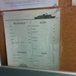 M/V Columbia from Bellingham to Ketchikan, July 2016 - Dining Room Menu