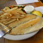 good size fish with fried