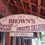 Browns Coffee House and Sweets Saloon, Columibia State Park, Ca