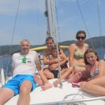 Tour of the islands by yacht Meganisi and Scorpios