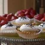 Desserts at Caelum