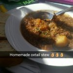 The homemade oxtail stew is the best I've ever had, a must try!