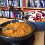 Glory Bowl and Moroccan Yam Soup