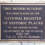 National Register of Historical Places plaque