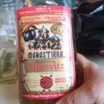 10 year old, 90 proof slivovitz (slivovice) served
