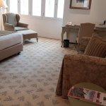 Spacious and comfortable room