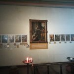 Sacred scene along the walls #2