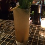 This is The Campbell Town Rock: Privateer Rum, passion fruit, Gran Classico, bitters, lime and m
