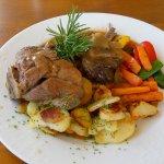 Lammfleisch mit Gemüse