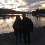 Lake Windermere at sunset