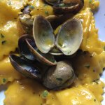 tortellini and clams