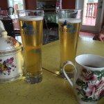 Nice staff, nice food, tea and beer! :)