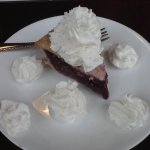 Pie with extra whipped cream