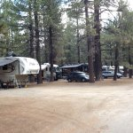 Premium campsites with full hookups
