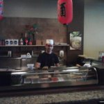 Sushi Chef at Sushi Bar